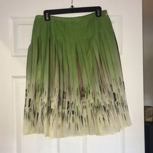 Floral Skirt for Work & Play